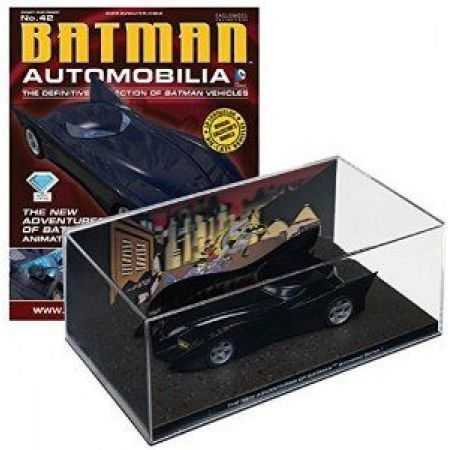 Batman Automobilia #42 New Adventures of Batman Animated - Eaglemoss