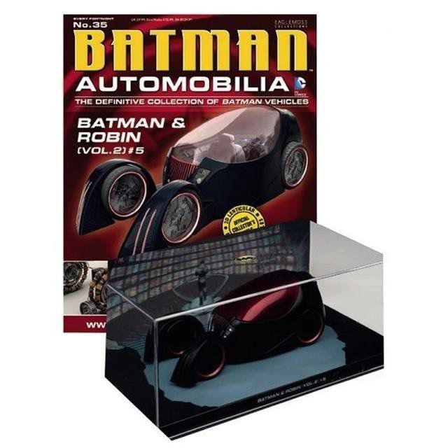 Batman Automobilia Magazine #35 Batman Robin Volume 2 - Eaglemoss