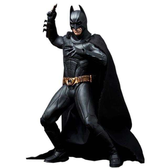 Boneco Batman/Bruce Wayne (Batsuit Begins): Batman Begins Escala 1/6 (MMS155) - Hot Toys - CG