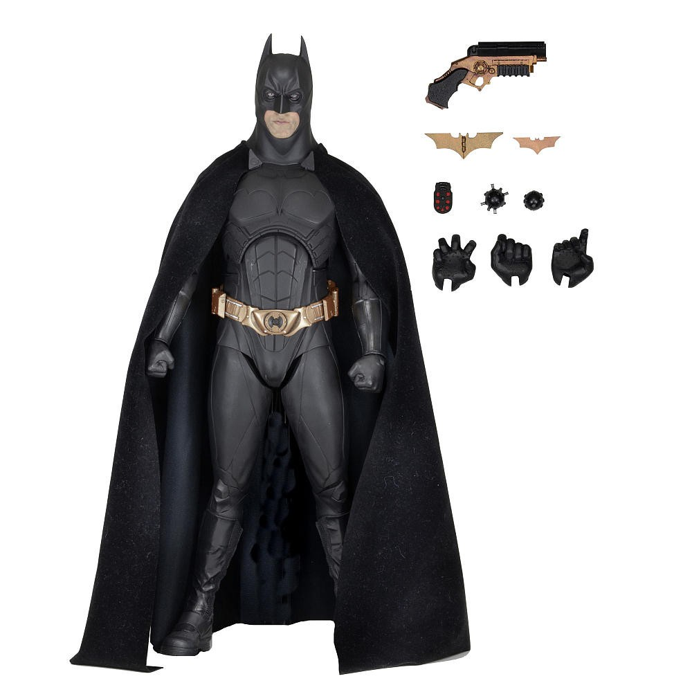 Action Figure Batman: Batman Begins (Escala 1/4) - Neca