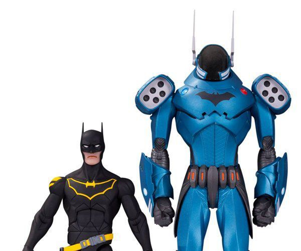 Bonecos Pack Batman DC Designer (By Greg Capullo) - Dc Collectibles