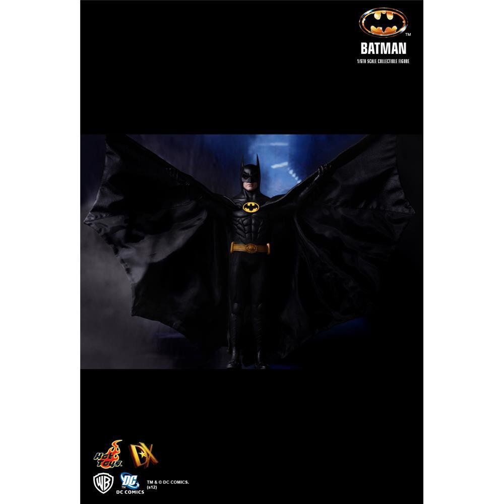 Boneco Batman: Batman (1989) Escala 1/6  (DX09) - Hot Toys - CG