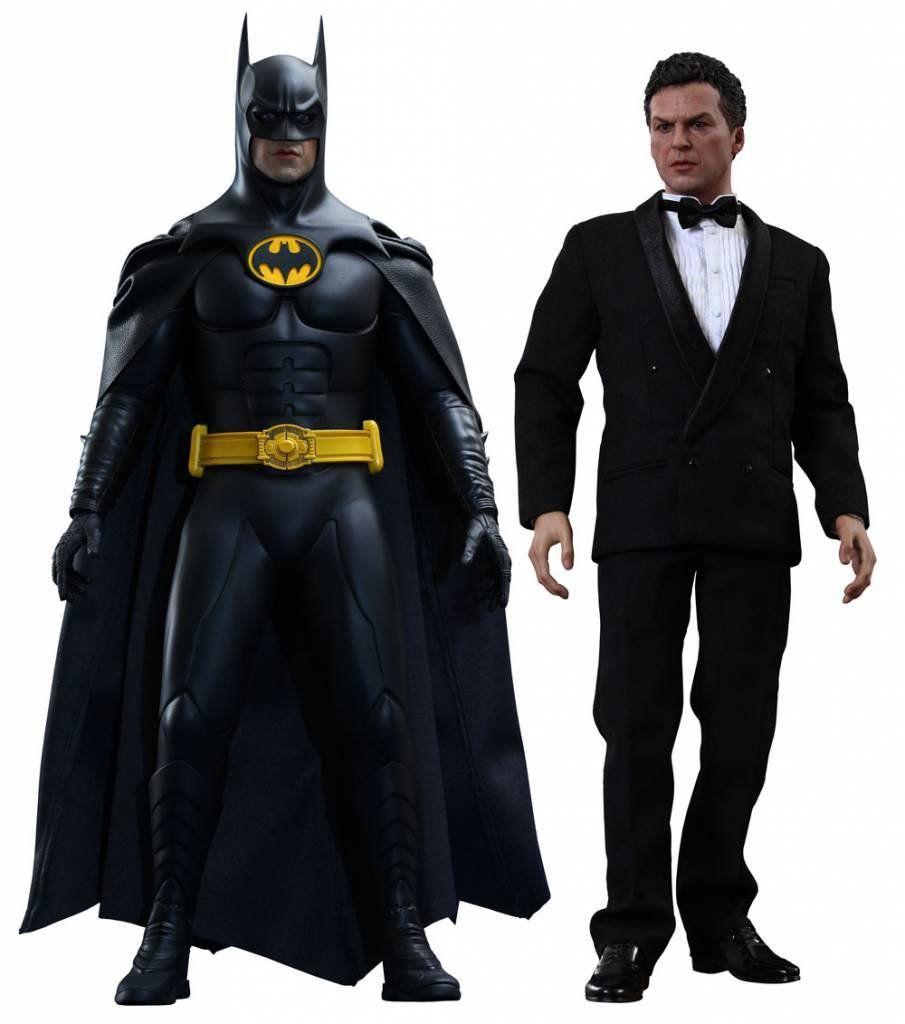Bonecos do Batman & Bruce Wayne: Batman Returns Escala 1/6 - Hot Toys
