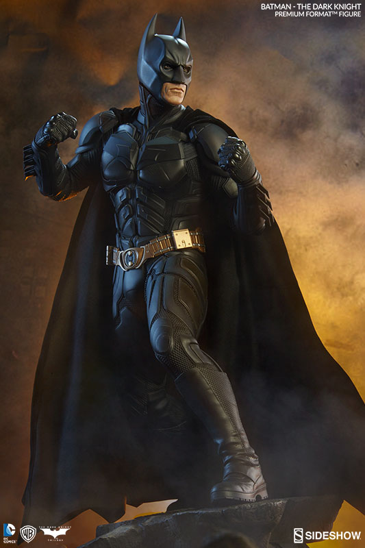 Estátua Batman Cavaleiro Das Trevas The Dark Knight: Premium Format Escala 1/4 - Sideshow Collectibles