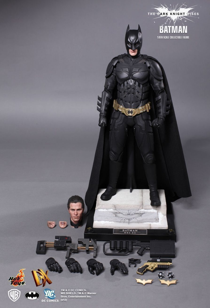 Boneco Batman: Batman O Cavaleiro das Trevas Ressurge (The Dark Knight Rises) Escala 1/6 (DX12) - Hot Toys - CG
