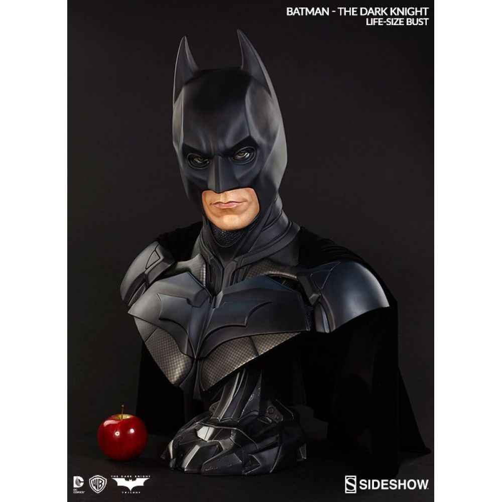 Batman The Dark Knight Life-Size Bust Escala 1/1 - Sideshow