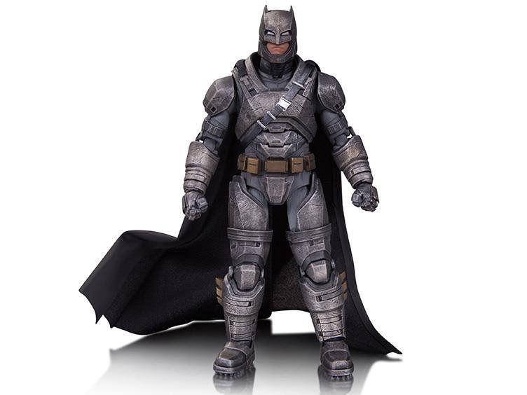 Boneco Armored Batman: Batman vs Superman: A Origem da Justiça Escala 1/10 - DC Collectibles