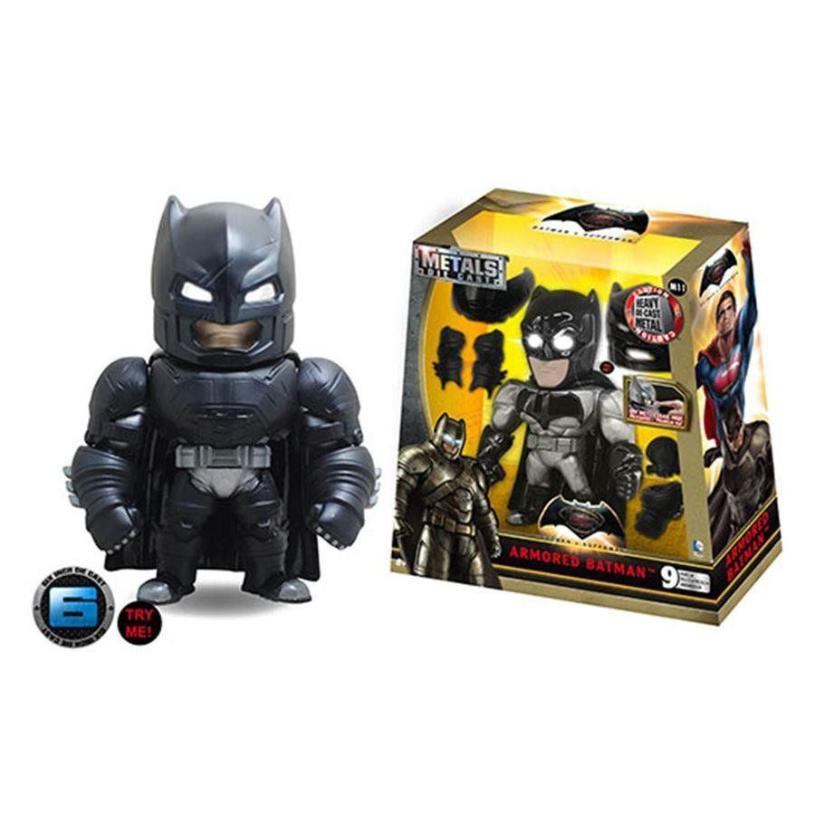 Batman Vs Superman: Batman With Armor - Metals Die Cast - DTC