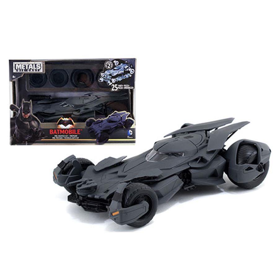 Carro Batmóvel : Miniatura Batmobile Batman Vs Superman Preto - DTC