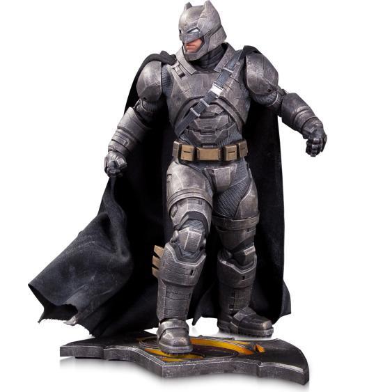 PRÉ VENDA: Estátua Armored Batman: Batman vs Superman: A Origem da Justiça Escala 1/6 - DC Collectibles