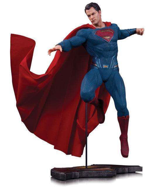 PRÉ VENDA : Batman Vs Superman Dawn Of Justice: Superman Estátua - DC Collectibles
