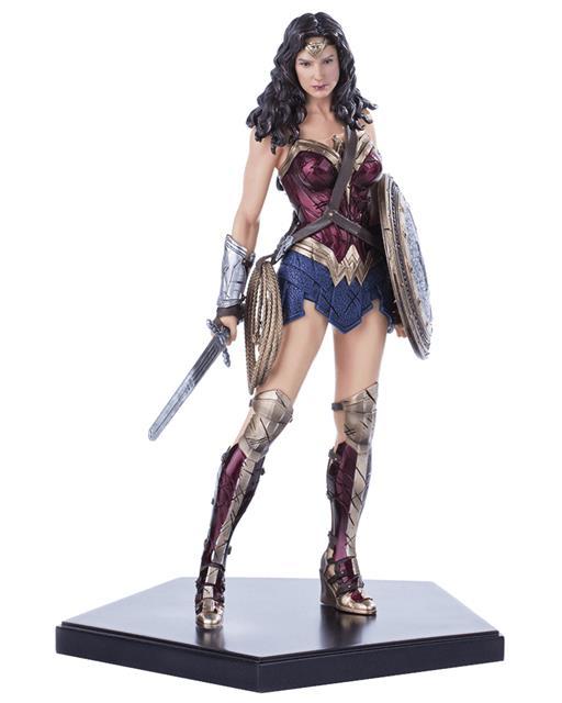 Estátua Mulher Maravilha (Wonder Woman): Batman Vs Superman: A Origem da Justiça Art Scale Escala 1/10 - Iron Studios