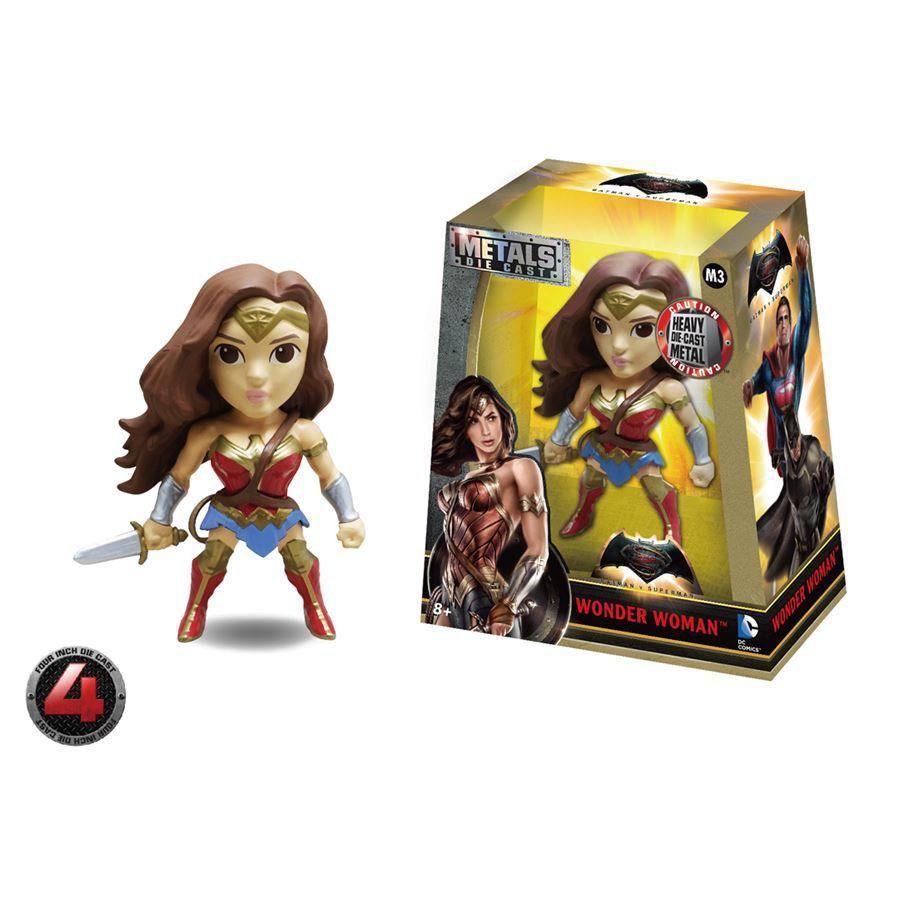 Metals Die Cast: Batman Vs Superman: Wonder Woman (Mulher Maravilha) - DTC