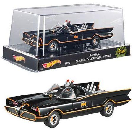 Batmobile (Batmóvel): Batman Classic Tv Series 1966 1/24 - Hot Wheels