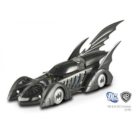 Batmobile (Batmóvel) Hot Wheels 1/18 Scale Elite Cult Classic 1995 Batman Forever - Hot Wheels