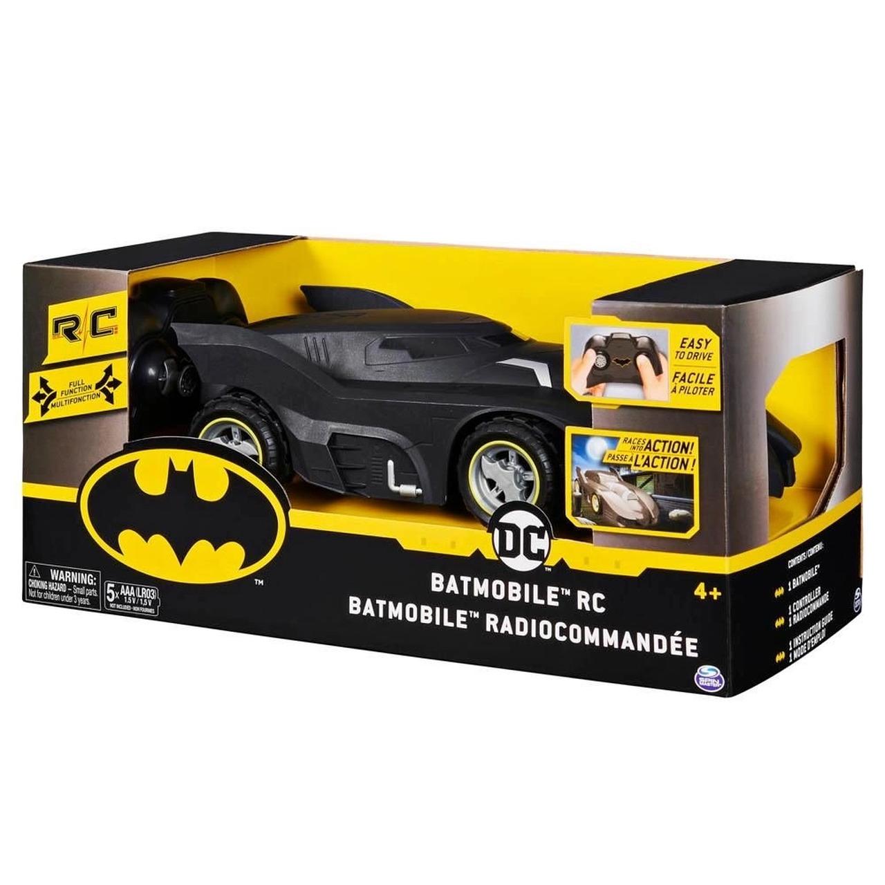 Batmóvel (Batmobile) Com Controle Remoto: DC Comics (Escala 1:24) - Sunny