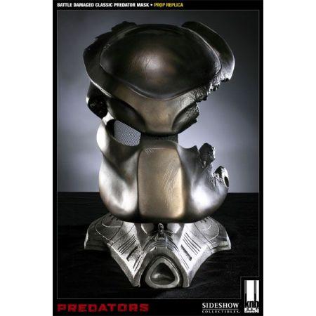 Battle Damaged Classic Predador / Predator Máscara Réplica 1/1 - Sideshow