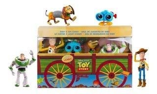 Bau de Brinquedos: (Woody, Buzz Lightyear, Slinky Dog e Lenny ) - Toy Story 4