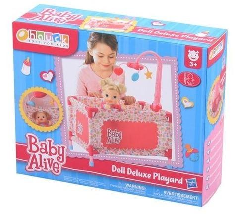 Berço de Bebê Boneca Baby Alive Play Yard with Mobile