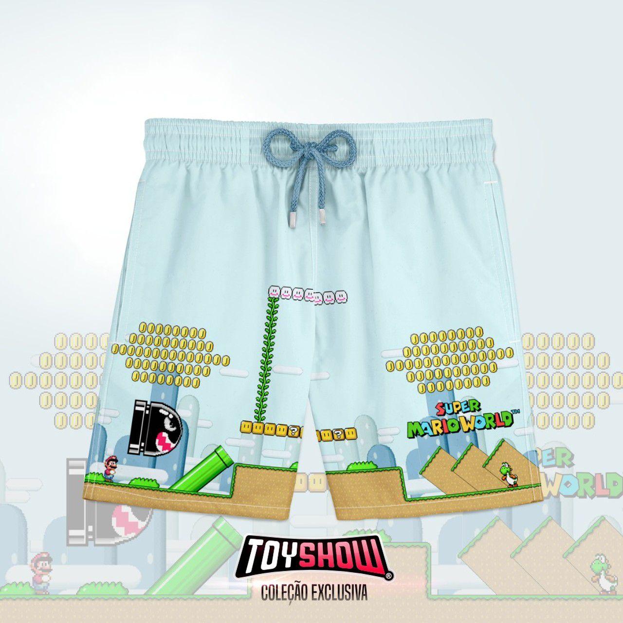 Bermuda (Shorts Praia) Jogo: Super Mario World