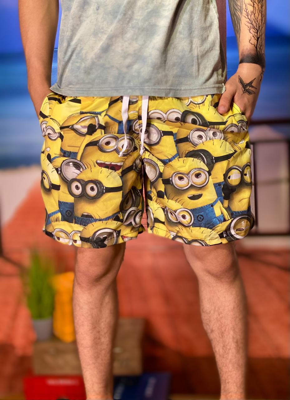 Bermuda (Shorts Praia) Minions: Meu Malvado Favorito