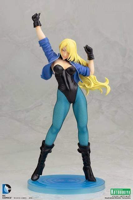 Estátua Canário Negro (Black Canary) Bishoujo: DC Comics Edição Limitada Escala 1/7 - Kotobukiya - CD