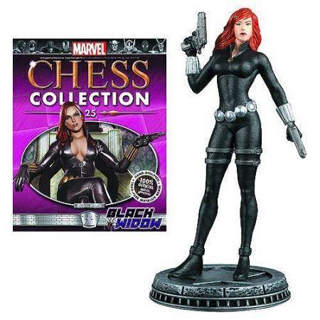 Black Widow Marvel Chess - Eaglemoss