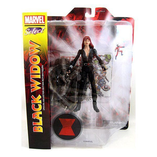 Boneco Black Widow: Marvel Select - Diamond