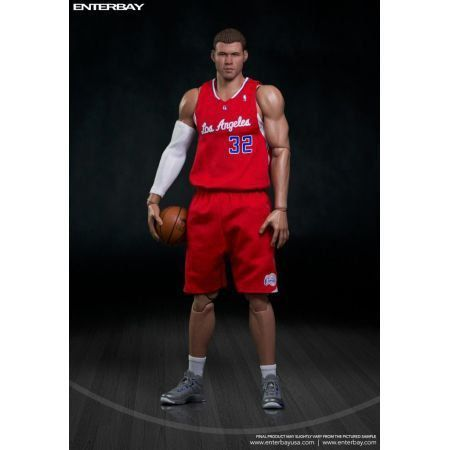 Action Figure Blake Griffin: Los Angeles Clippers (NBA) Real Masterpiece Escala 1/6 - Enterbay