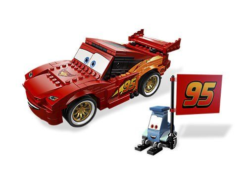 Bloco de Montar - Carro vermelho 312 peças