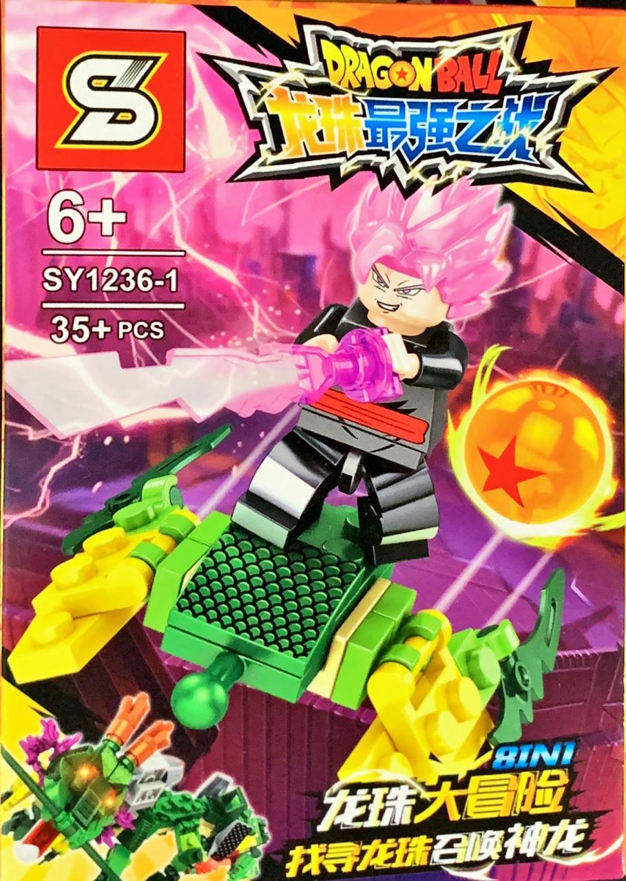 Bloco de Montar Dragon Ball: Goku Black (SY1236-1) - (35 Peças)