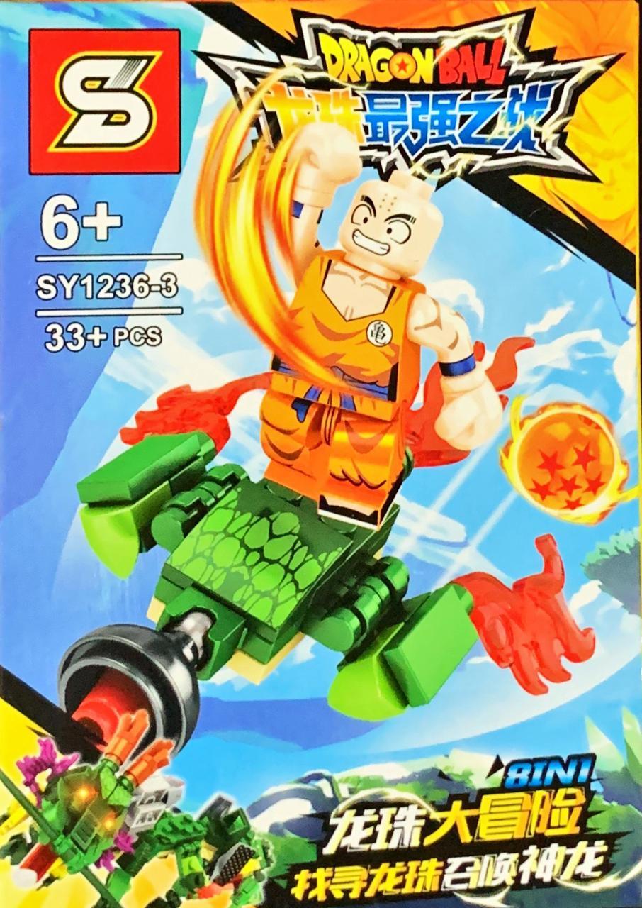 Bloco de Montar Dragon Ball: Kuririn (SY1236-3) - (33 Peças)