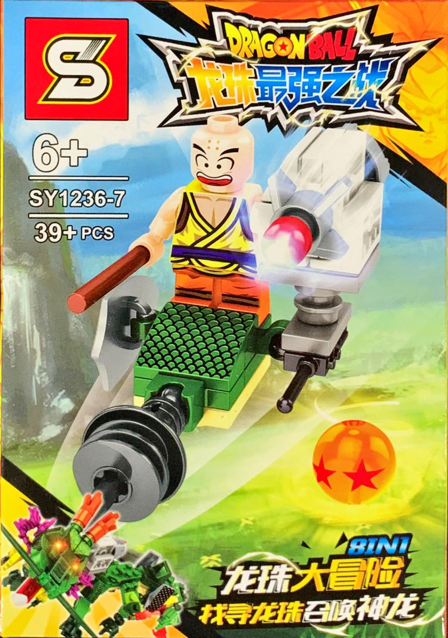 Bloco de Montar Dragon Ball: Kuririn (SY1236-7) - (39 Peças)