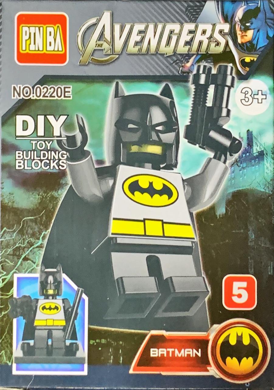 Bloco de Montar Heroes Assemble: Batman (0220E)