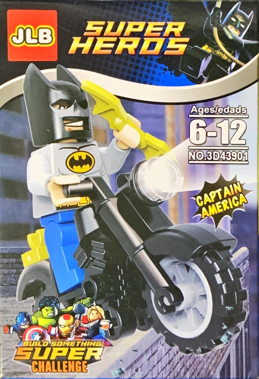 Bloco de Montar Heroes Assemble: Batman (3D43901)