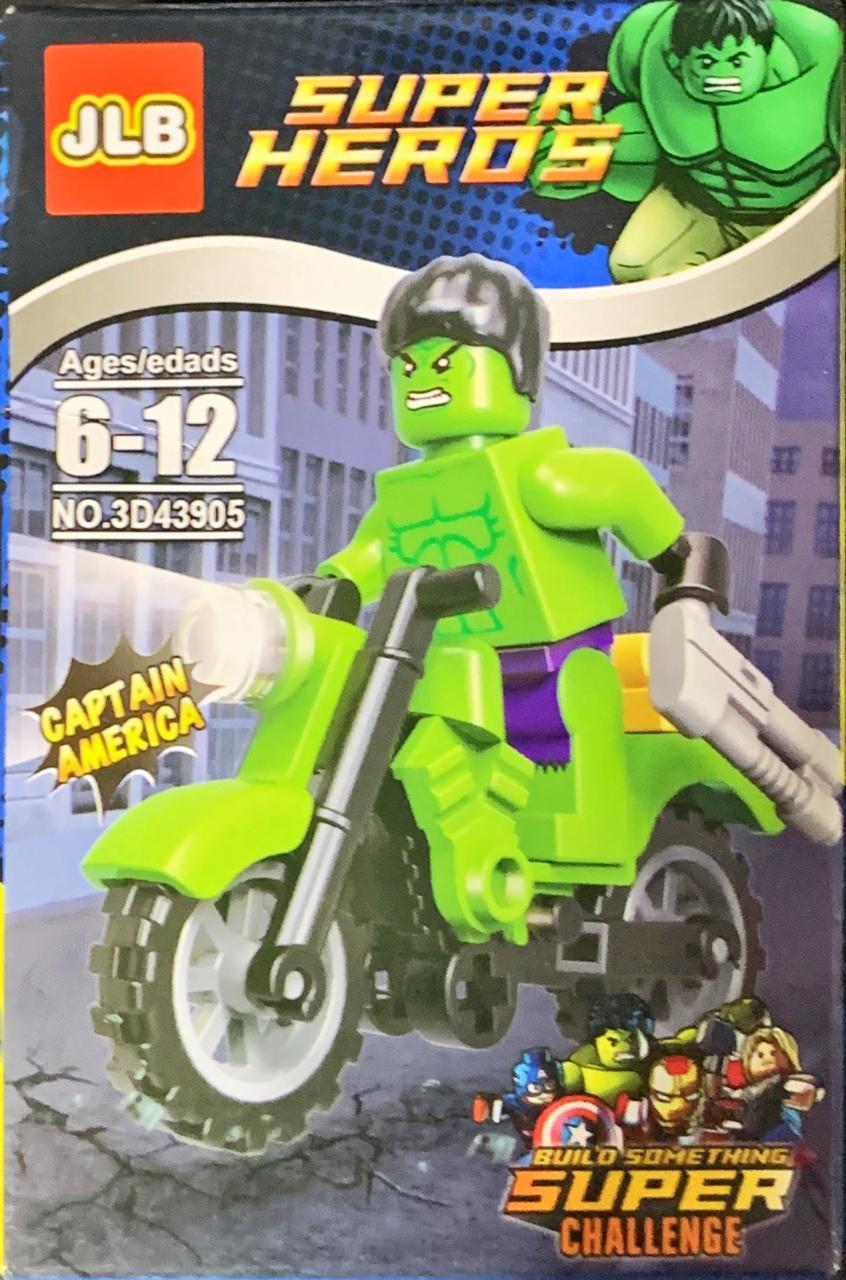 Bloco de Montar Heroes Assemble: Hulk (3D43905)