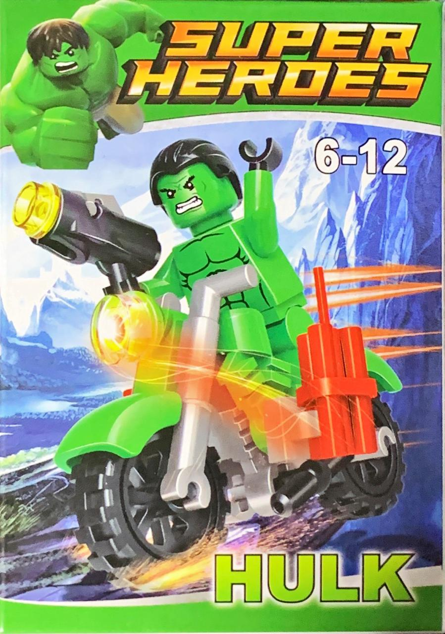Bloco de Montar Heroes Assemble: Hulk
