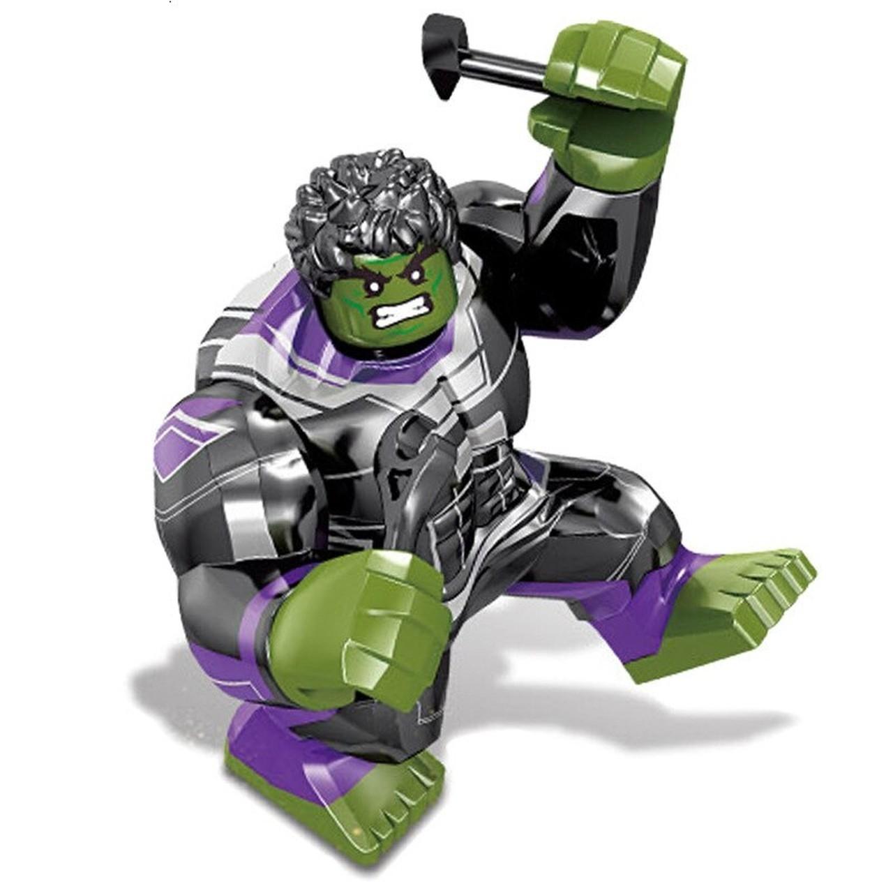 Bloco de Montar Hulk: Vingadores Ultimato (SY1311-8) - (16 Peças)
