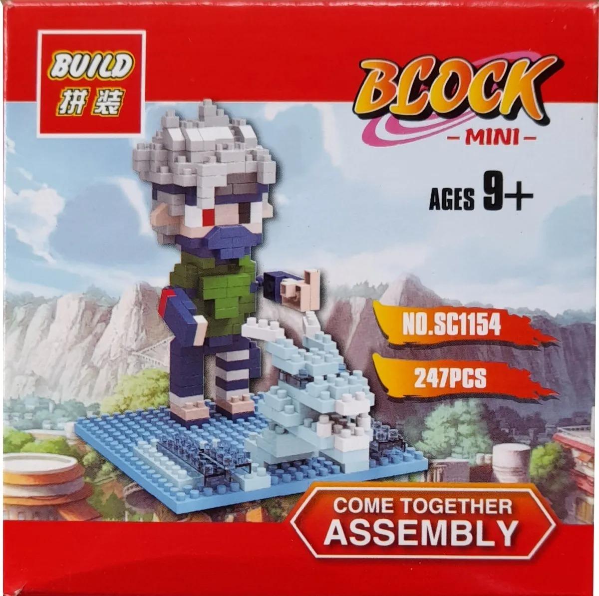 Bloco De Montar Lego Kakashi Hatake - Naruto Shippuden (247pcs)
