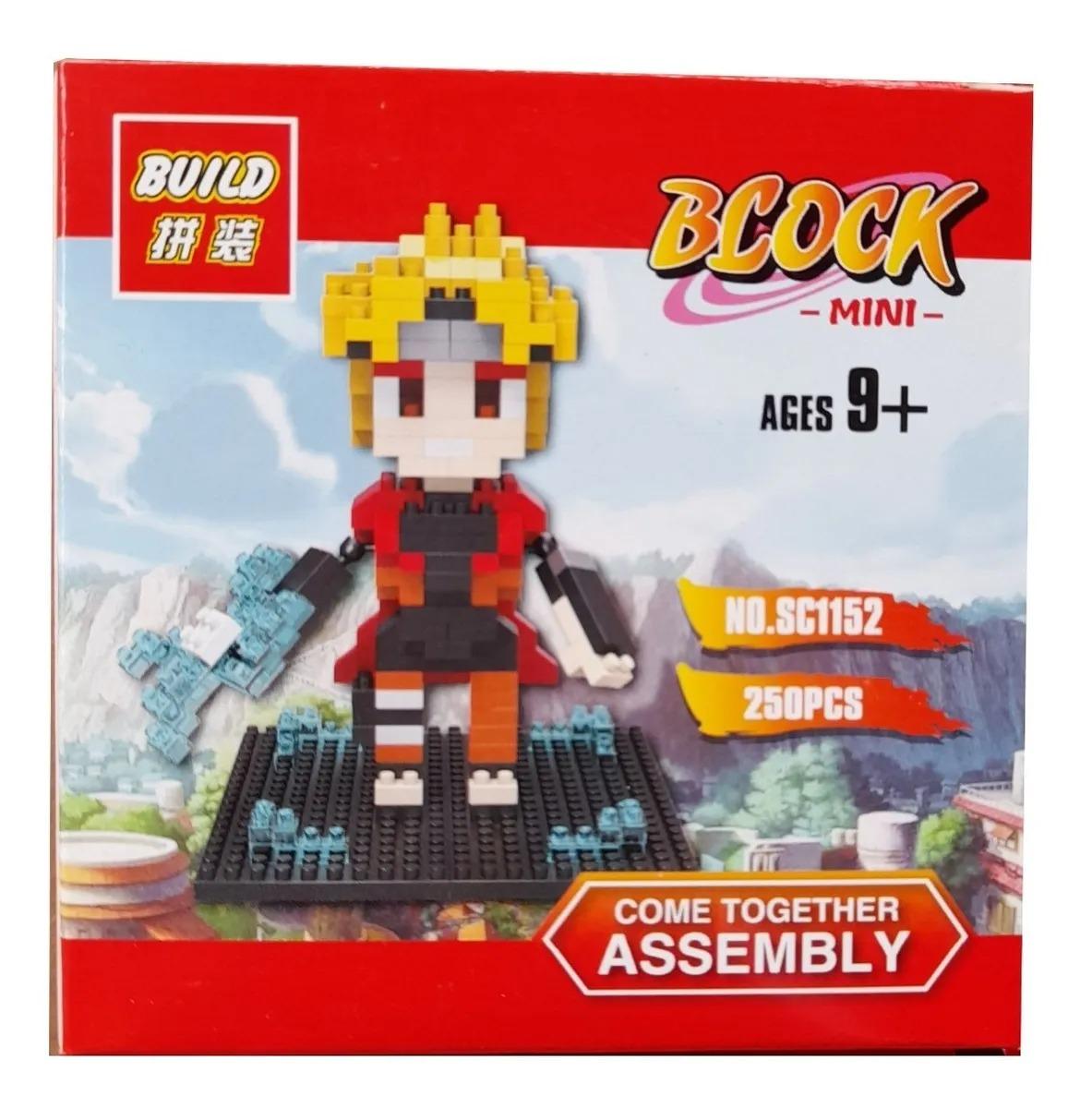 Bloco De Montar Lego Naruto Uzumaki - Naruto Shippuden (247pcs)