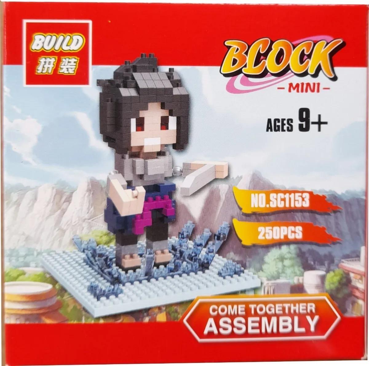 Bloco De Montar Lego Sasuke Uchiha - Naruto Shippuden (247pcs)