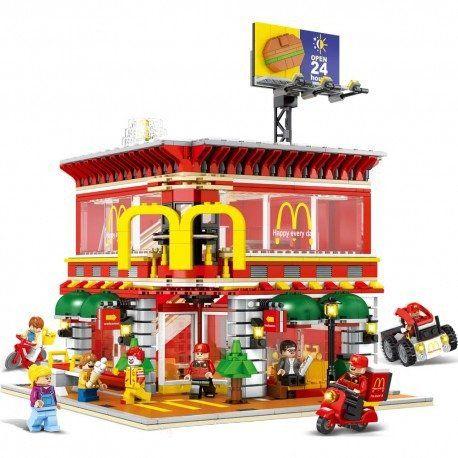 Bloco de Montar McDonald's - 1729 peças