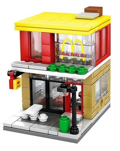 Bloco de Montar Mcdonalds 150 Peças SD6012 - Lego