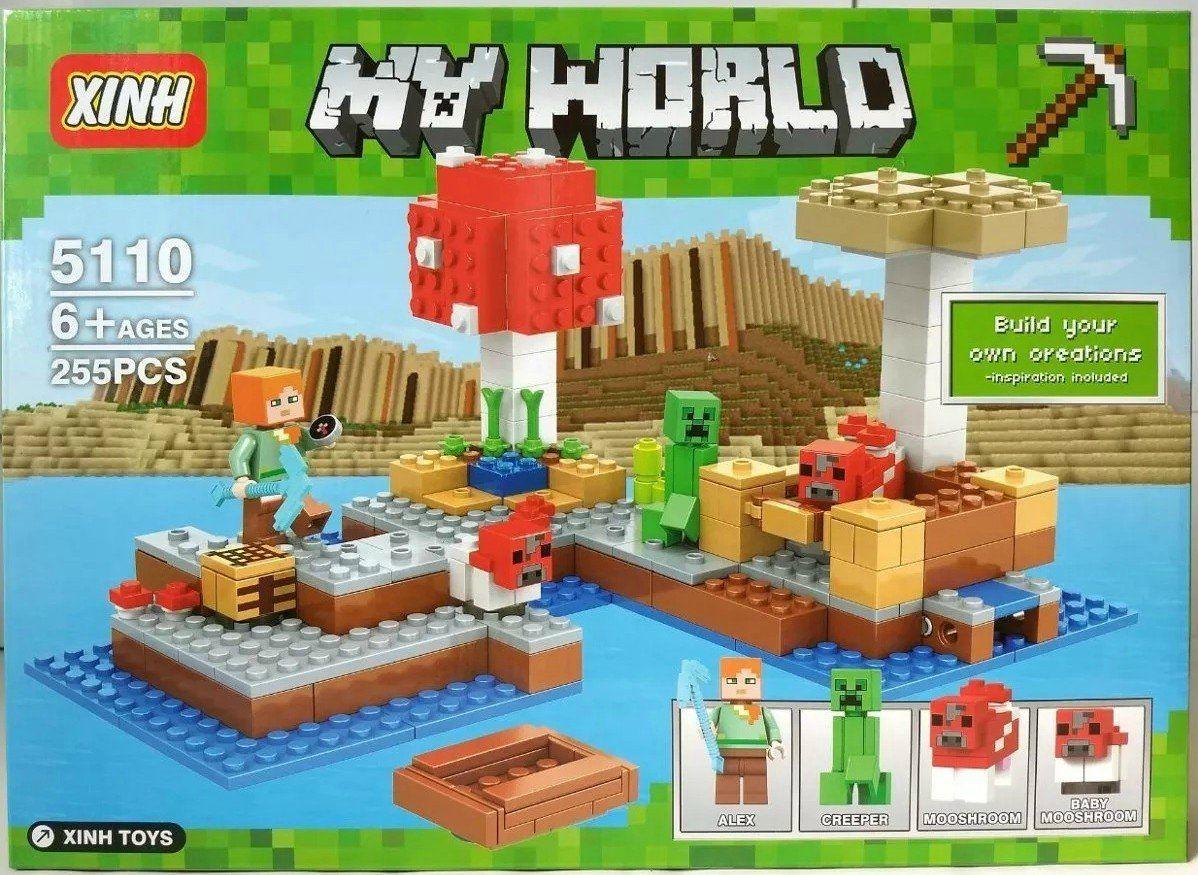 Bloco de Montar My World: Minecraft - (255 Peças)