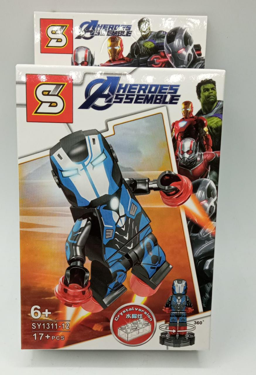 Bloco de Montar Resgate: Vingadores Ultimato (SY1311-12) - (17 Peças)