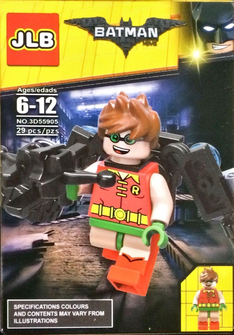 Bloco de Montar Robin: Batman Movie (3D55905) - 29 Peças