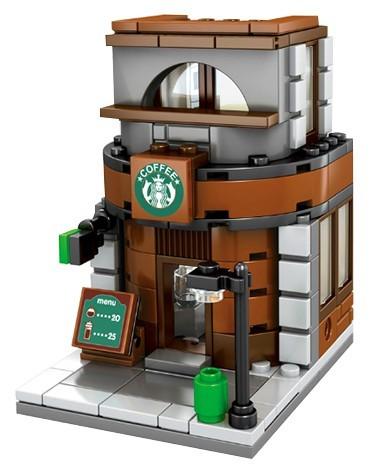 Bloco de Montar Starbucks 143 Peças SD6013 - Lego