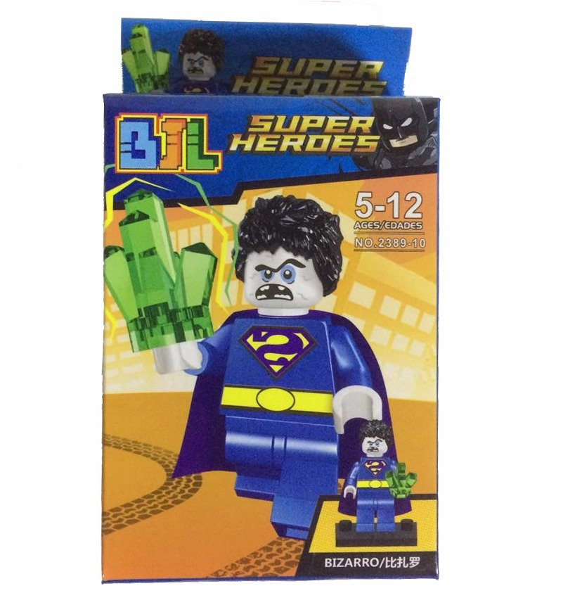 Bloco de Montar Super Heroes: Bizarro Small Blocks