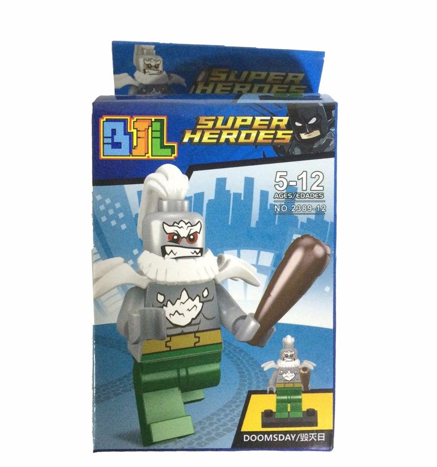 Bloco de Montar Super Heroes: Doomsday Small Blocks
