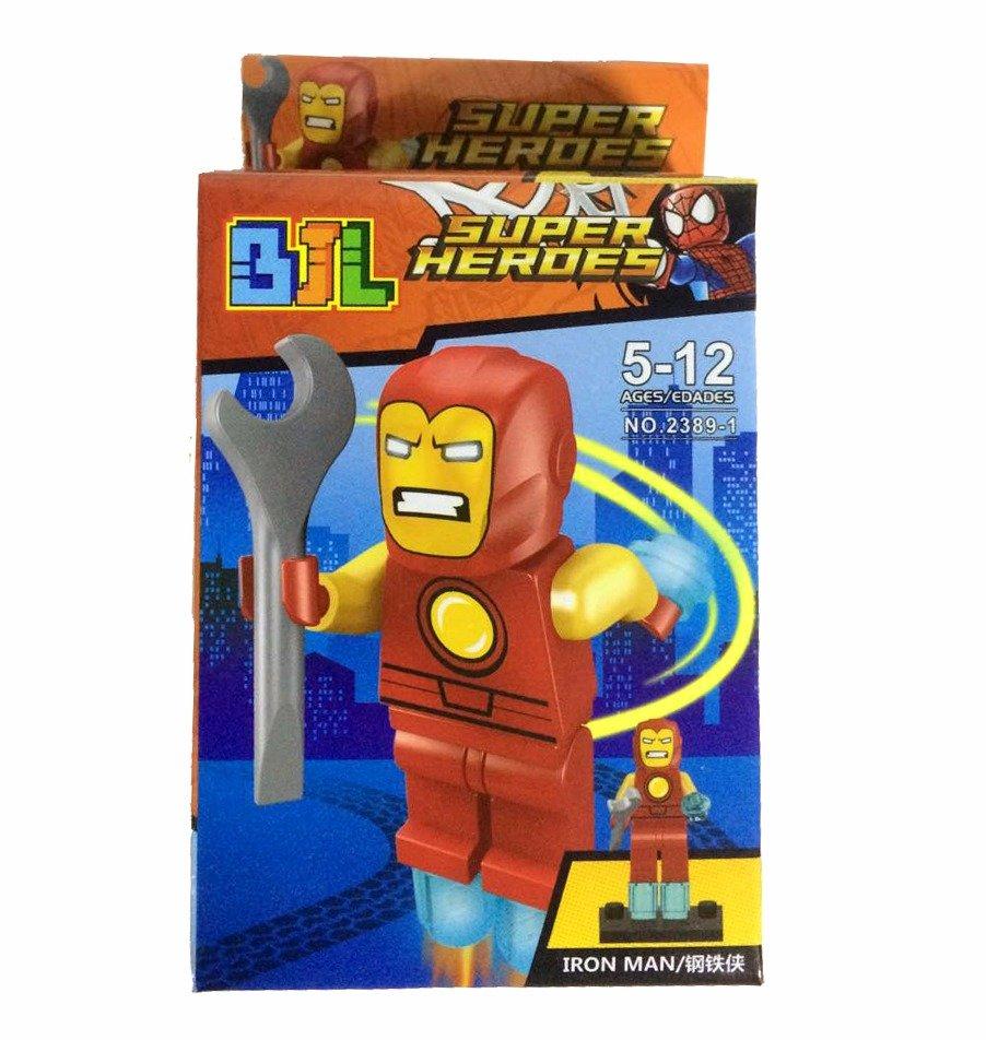 Bloco de Montar Super Heroes: Homem de Ferro (Ironman) Small Blocks